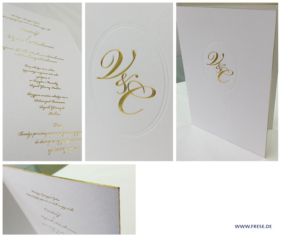 Anbieter Frese Hochzeitskarten